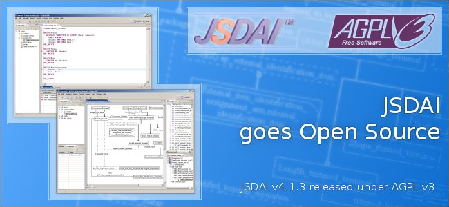 JSDAI goes Open Source
